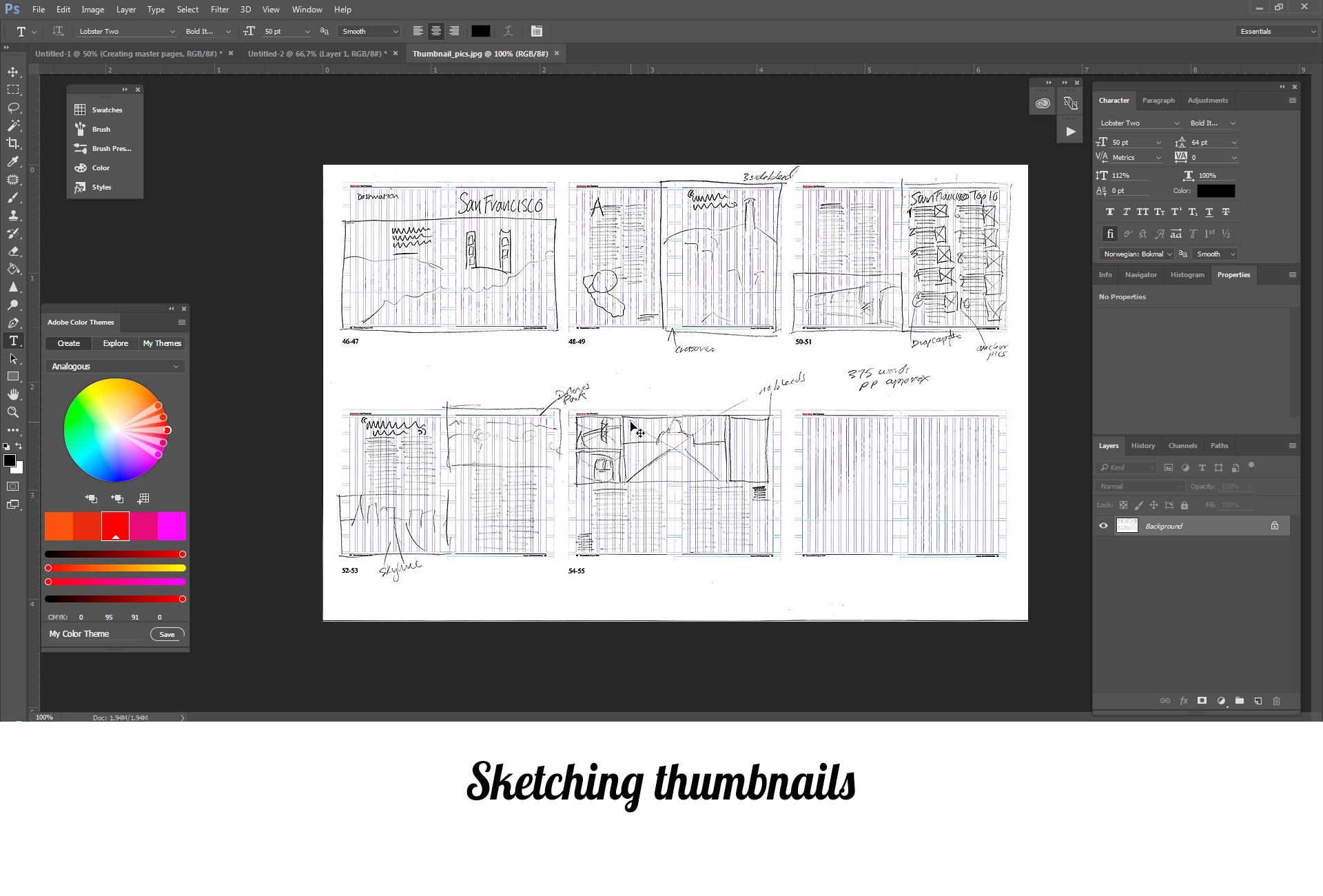 sketching-thumbnails