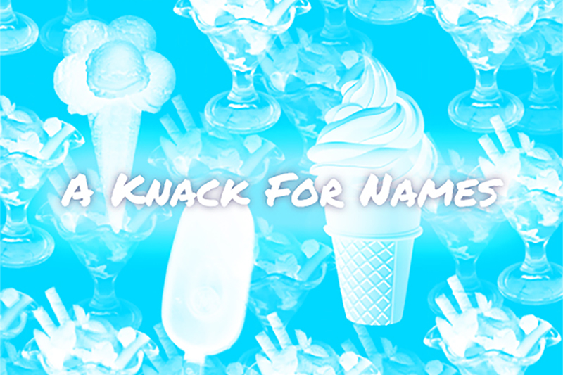 Learning Activity – A Knack for Names