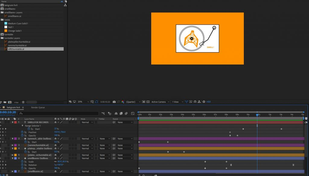 LA – week 24, Creating an Animation in After Effects